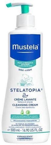MUSTELA Stelatopia krem myjący 400ml