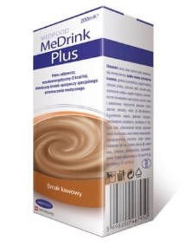 MeDrink Plus płyn smak kawowy 200ml