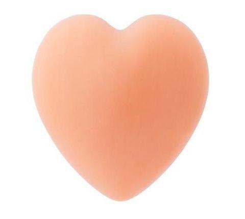 Mydło w kształcie serca z olejkiem z owoców dzikiej róży i nasion granatu (pomarańczowe) 65g
