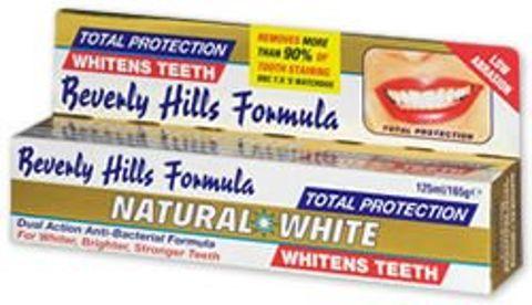 NATURAL WHITE Pasta 125ml BEVERLY HILLS