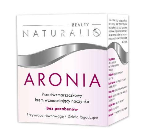 NATURALIS Aronia krem przeciwzmarszczkowy wzmacniający naczynka 50ml