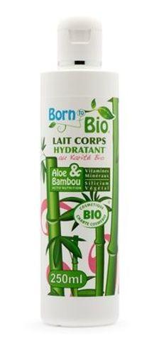 """NAWILŻAJĄCE mleczko do ciała BIO """"Aloes i Bambus"""" 250 ml"""