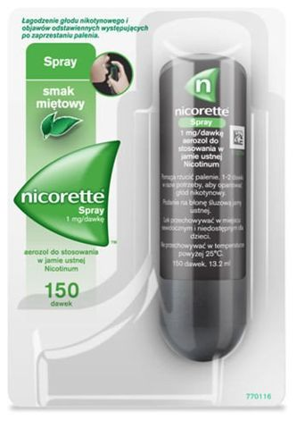 NICORETTE Spray x 150 dawek