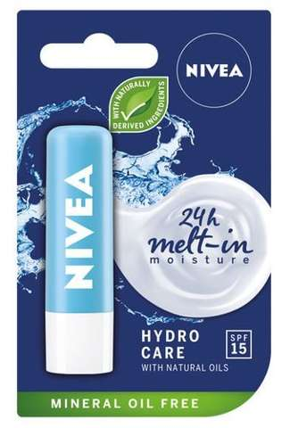 NIVEA HYDRO CARE Pomadka 4,8ml