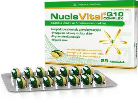 NUCLEVITAL Q10 Complex x 28 kapsułek