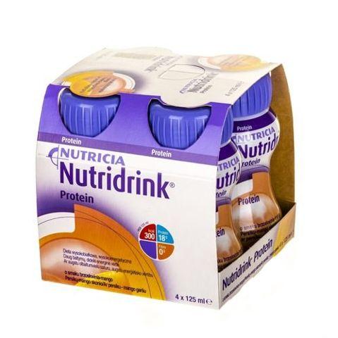 NUTRIDRINK Protein brzoskwinia-mango 4 x 125ml