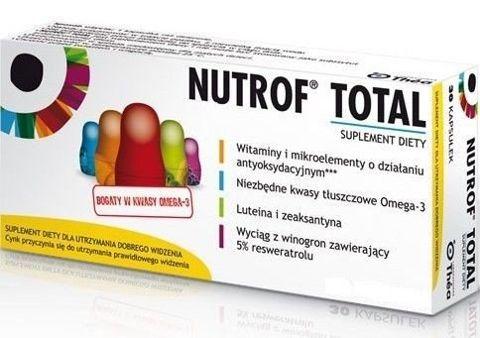 NUTROF TOTAL x 60 kapsułek