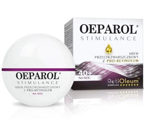 OEPAROL STIMULANCE Krem przeciwzmarszczkowy z Pro-Retinolem na noc 50ml