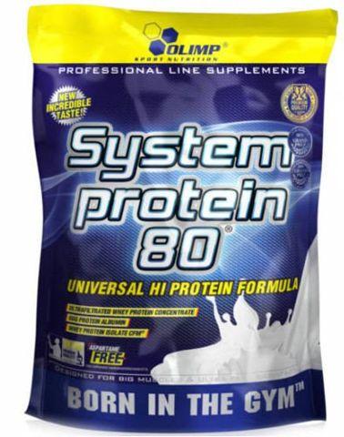 OLIMP System Protein 80 700g banan
