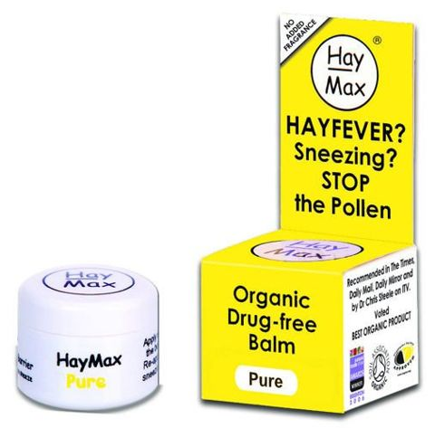 ORGANIC HAYMAX Pure Balsam do smarowania nosa 5ml