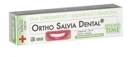 ORTHO Salvia Dental Retainer pasta do zębów 75ml