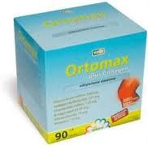 ORTOMAX PLUS COLLAGEN x 90 kapsułek
