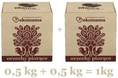 ORZECHY PIORĄCE EkoMama 500g