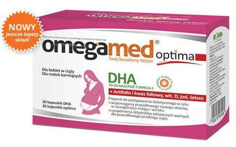 Omegamed Optima dla kobiet w ciąży x 60 kapsułek