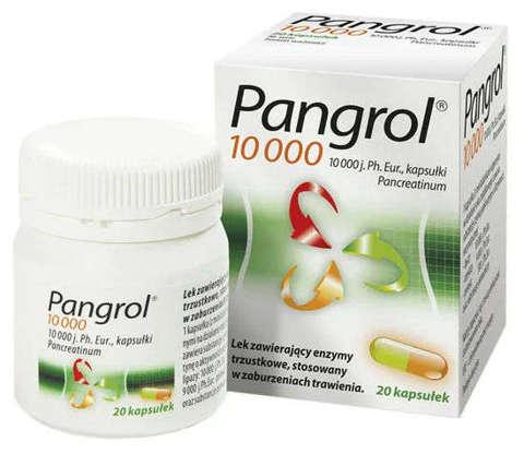 PANGROL 10000j.m. x 20 kaps.
