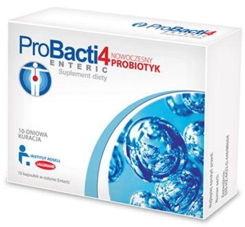 PROBACTI 4 Enteric x 10 kapsułek