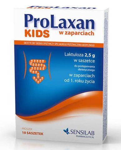 PROLAXAN KIDS 2,5g x 10 saszetek