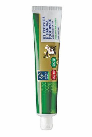 Pasta do zębów na bazie miodu Manuka MGO400 i Propolisu BIO30 100g