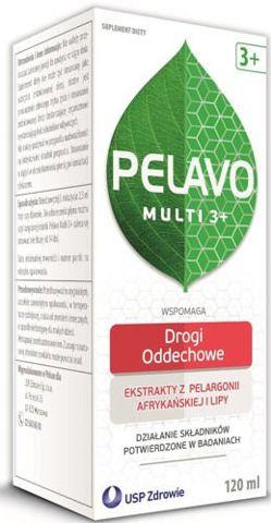 Pelavo Multi 3+ syrop przeziębienie i grypa 120ml