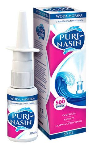 Puri-Nasin roztwór izotoniczny wody morskiej 50ml