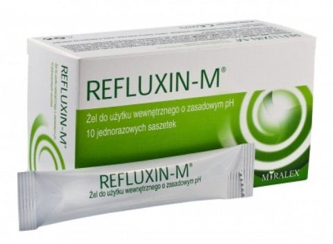 REFLUXIN-M żel 10ml x 10 saszetek