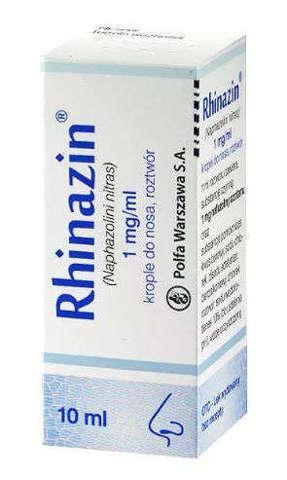 RHINAZIN krople do nosa 10ml