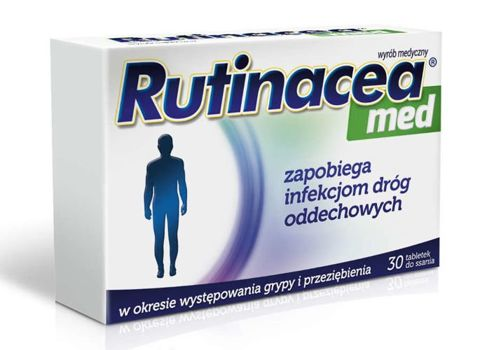 Rutinacea Med x 30 tabletek do ssania