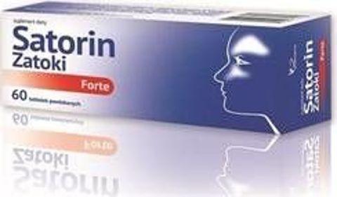 SATORIN ZATOKI FORTE x 60 tabletek