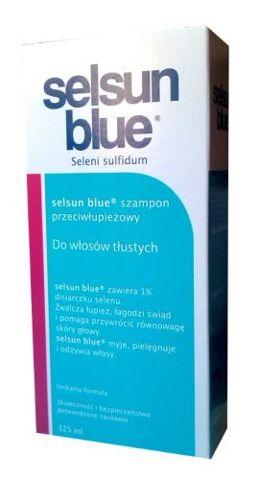 SELSUN Blue Szampon przeciwłupieżowy 125ml do włosów tłustych