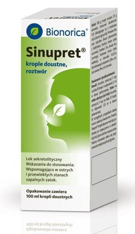 SINUPRET krople 100ml