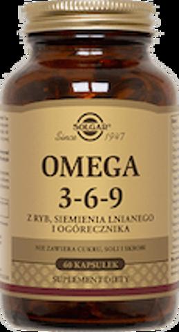 SOLGAR Omega 3-6-9 x 60 kapsułek