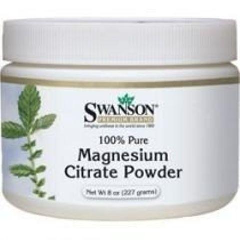 SWANSON Cytrynian magnezu 100% czystości 227g