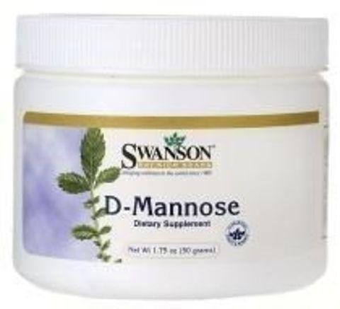 SWANSON D-mannoza proszek 50g