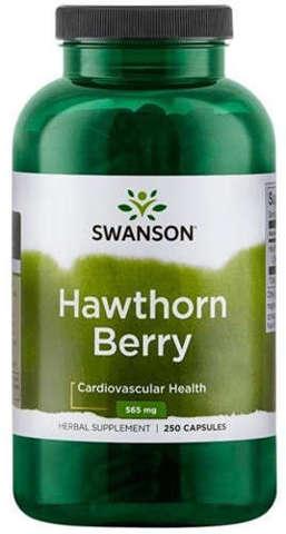 SWANSON Głóg owoce 565mg x 250 kapsułek