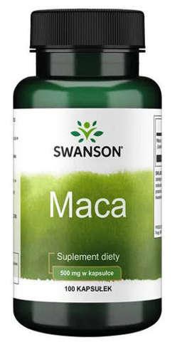 SWANSON Maca 500mg x 100 kapsułek