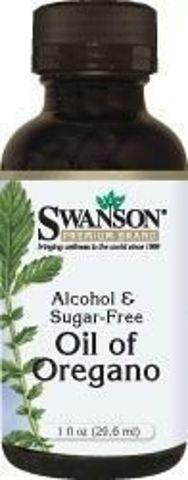 SWANSON Olej z Oregano ekstrakt w płynie (Oregano Oil Liquid) 29,6ml