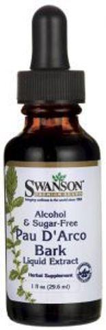 SWANSON Pau D'Arco Liquid Extract 29,6ml - data ważności 30-11-2017r.