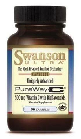 SWANSON Pure Way-C 500mg x 90 kapsułek