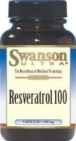 SWANSON Resweratrol 100mg x 30 kapsułek