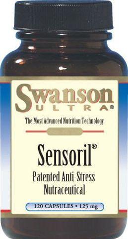 SWANSON Sensoril Anti-Stress Nutraceutical x 120 kapsułek