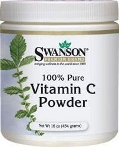 SWANSON Witamina C - 100% czystości 454g