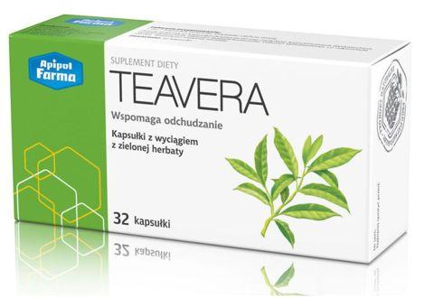 TEAVERA Wyciąg z zielonej herbaty x 32 kapsułki