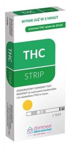 TEST THC wykrywający narkotyki (marihuana i haszysz)