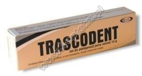 TRASCODENT żel 15g