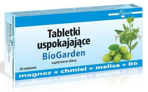 Tabletki Uspokajające Biogarden x 20 tabletek
