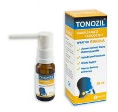 Tonozil Spray nawilżająco-łagodzacy do gardła 20ml