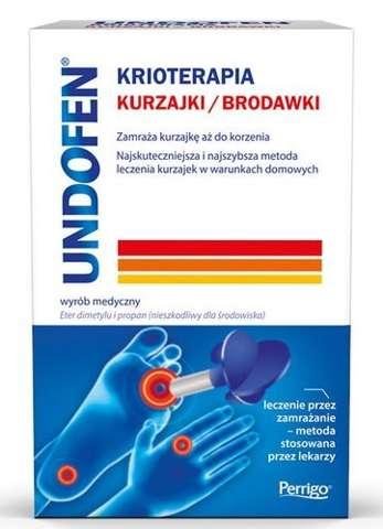 UNDOFEN Krioterapia aerozol 50ml - 12 aplikacji