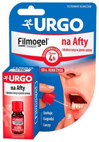 URGO Na Afty i drobne rany w jamie ustnej 6ml