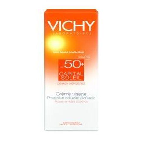 VICHY Capital Soleil SPF50+ Krem ochronny do twarzy 30ml