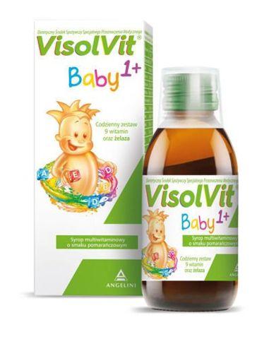 VISOLVIT BABY 1+ syrop 120ml